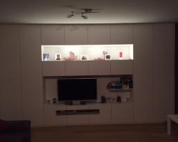 Tv-kast wit in woonkamer